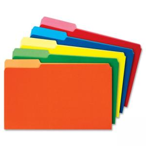 Globe-Weis Colored Top Tab File Folder