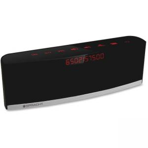 Spracht Blunote + CHAT Wireless Conference Speaker - 33ft - 2.0 Speaker(s) - 4W RMS - iPod Support: Yes - Black - Retail