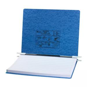 Acco Presstex Hanging Data Binder - Light Blue - 1 Each