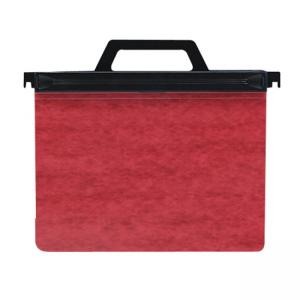Acco Expandable Pressboard Data Binder - 1 Each - Red