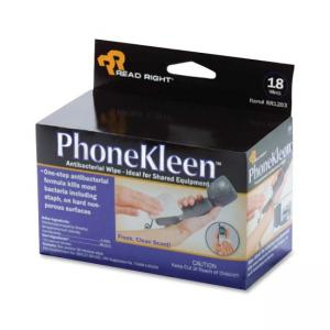 Advantus RR1203 PhoneKleen Cleaning Wipes - Cleaning Wipe