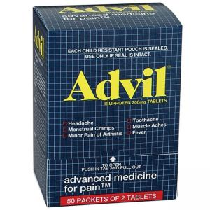 Advil Ibuprofen Pain Reliver - 50 / Pack