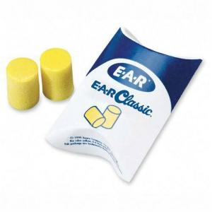 Aearo E-A-R Classic Pillow Pack Ear Plug - Yellow  -  200 / Box