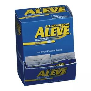 Aleve Pain Reliever Tablets - 50 / Box