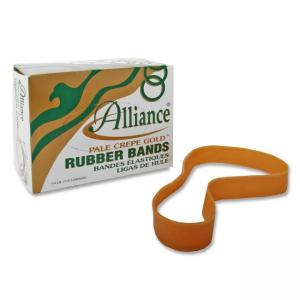 Alliance Rubber Pale Crepe Gold Rubber Band - Size: 107
