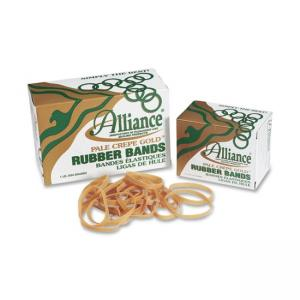 Alliance Rubber Pale Crepe Gold Rubber Band - Size: 117B