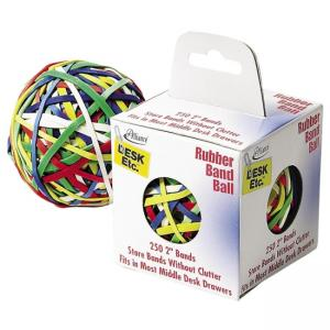Alliance Rubber Rubber Band Ball - Biodegradable