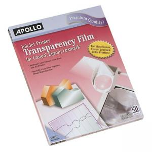 Apollo Removable Strip Transparency Film
