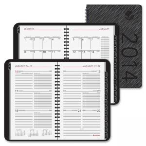 "At-A-Glance Contemporary Weekly/Monthly Planner - Weekly, Monthly - 4.88"" x 8"" - 1 Year - January till December"