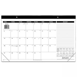At-A-Glance Monthly Compact Full Year Desk Pad