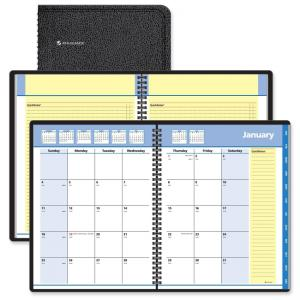 "At-A-Glance QuickNotes Monthly Planner - 6.87"" x 8.75"""
