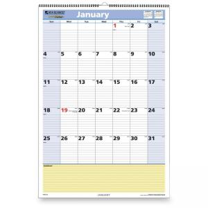 At-A-Glance QuickNotes  Wall Calendar - Monthly
