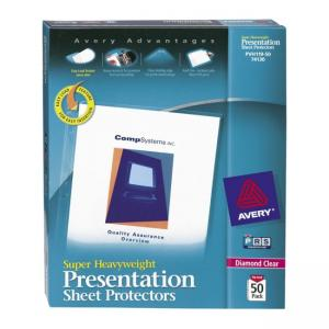 Avery Diamond Clear Top Loading Sheet Protector - 50 / Box