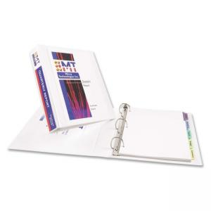 "Avery Durable Reference View Binder - 3 x Round Shape - 1.50"" Capacity"