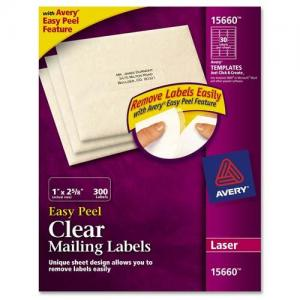 Avery Easy Peel Mailing Labels