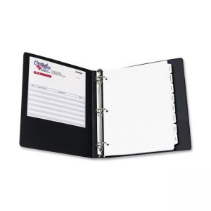 "Avery Economy Reference View Binder - 3 x Round Shape - 1.50"" Capacity"