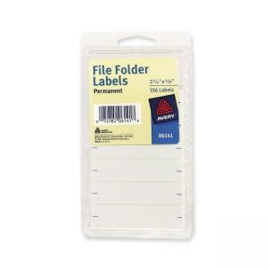 Avery File Folder Labels - 156 / Pack - White