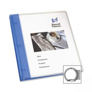 "Avery Flexible View Pocket Presentation Binder - Round Shape - 1"" Capacity"