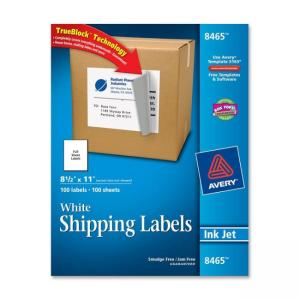 Avery Mailing Label - 8.5""