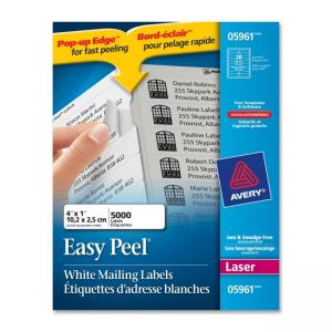 Avery Mailing Label - 5000 / Box - White