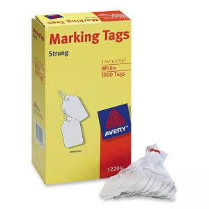"Avery Marking Tag - 1.75"" Length x 1.09"" Width - 1000 / Box"