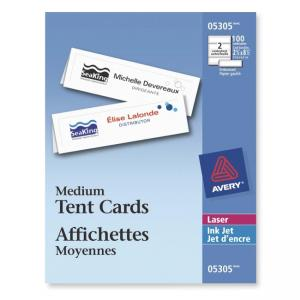 Avery Medium Tent Cards