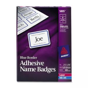 Avery Name Badge Labels - 400 / Box
