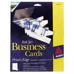 Avery Photo Quality Inkjet Business Card
