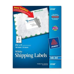 Avery Shipping Label - 3.5""