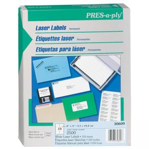Avery Shipping Label - 2500 / Box