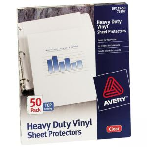 Avery Top Loading Sheet Protector - Clear