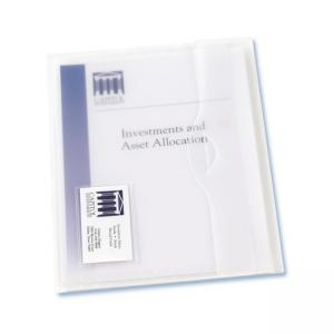 Avery Translucent Document Wallet - 12 / Box - Clear