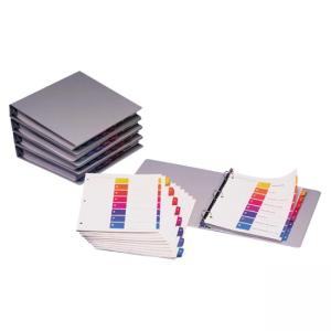 Avery Uncollated Index Divider - 24 / Box - Multicolor