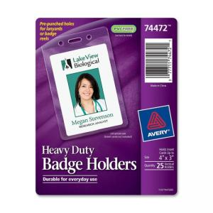 Avery Vertical Style Heavy-Duty Badge Holder