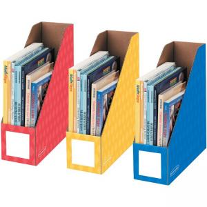 "Fellowes Bankers Box 4"" Magazine File Holders - Assorted - 3 Pack"
