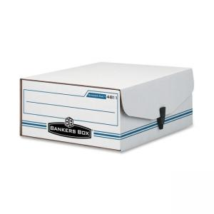 "Bankers Box Liberty Storage Box - 4.75"" Height x 9.75"" Width x 11.87"" Depth"