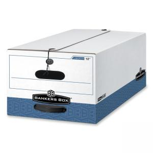 "Bankers Box Liberty Storage Box - 10.75"" Height x 15.25"" Width x 24.13"" Depth"