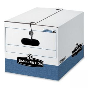 "Bankers Box Liberty Storage Box - 11"" Height x 12.25"" Width x 16"" Depth"