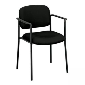 Basyx VL616 Guest Chairs With Arms - Black