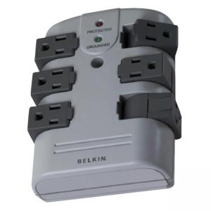Belkin 6-Outlets Surge Suppressor - 1.1 kJ