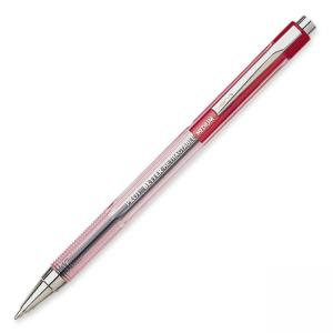Better Retractable Ballpoint Pen - 1 mm Red Ink - 12 / Dozen - Red