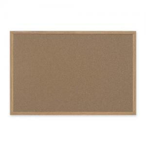 "Bi-silque Recycled Cork Bulletin Board - 48"" x 72"" - Cork"