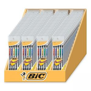 BIC Mechanical Pencil Set - 72 / Display Box - Assorted Colors