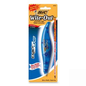 BIC Wite-Out Exact Liner Correction Tape Pen - White Tape - 1 Each