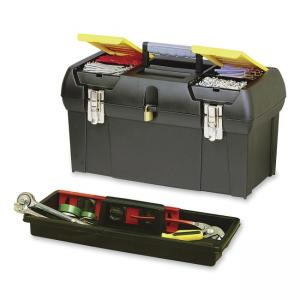 Bostitch Tools Storage Box - Rubber Coated Handle