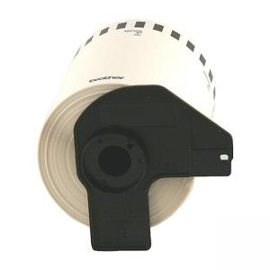 Brother Label Maker Tape Cartridges - 1 Roll - White