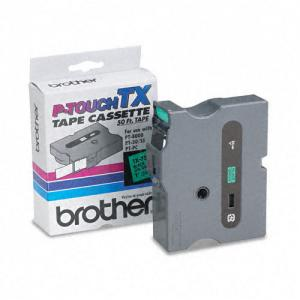 Brother P-Touch TX Laminated Tape - 1 Pack - Green