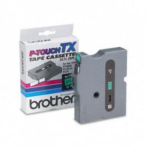 Brother P-Touch TX Laminated Tape(s) - 1 Roll - Green
