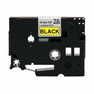 "Brother Label Tape - 0.50"" Width - 1 Each - Black"