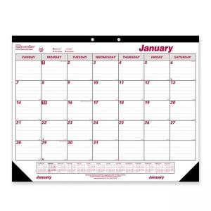 Brownline Monthly Desk/Wall Calendar -  Monthly